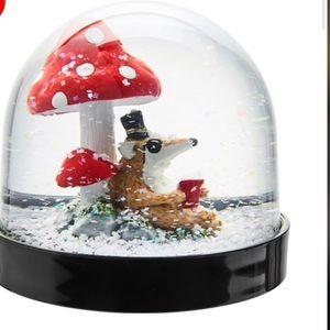 IKEA Vinter 2018 Snow Globe- Mushrooms 🍄 -NEW
